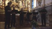 Beim Konzert in Traunkirchen